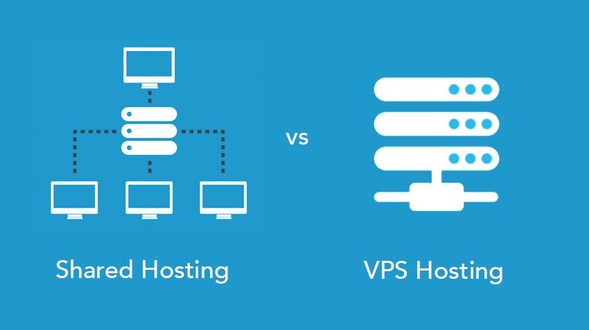 отличия виртуального хостинга и vps